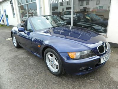 BMW Z3 1.9 2dr Convertible Petrol Blue MetallicBMW Z3 1.9 2dr Convertible Petrol Blue Metallic at Master Car Sales Northampton