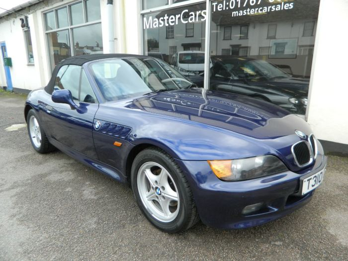 BMW Z3 1.9 2dr Convertible Petrol Blue Metallic